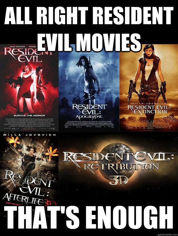 Res Evil meme
