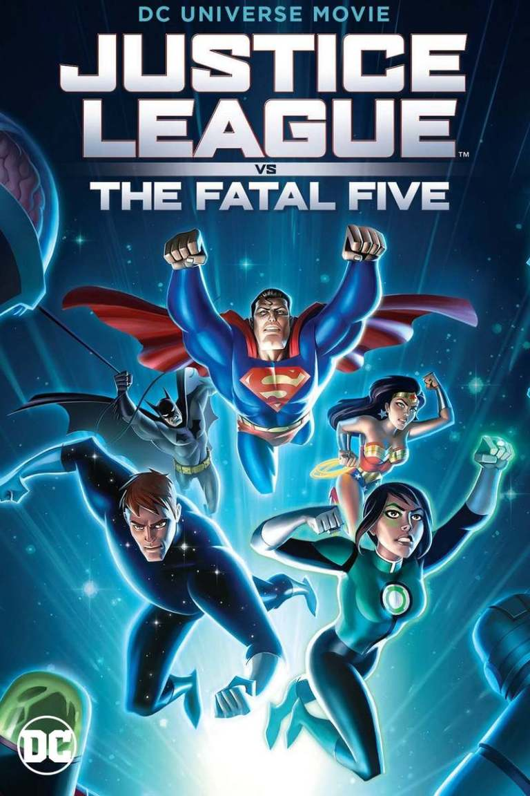 Justice-League-vs-the-Fatal-Five-2019-movie-poster